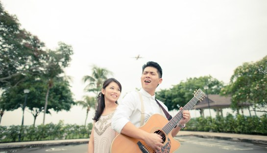 Singapore pre-wedding photography